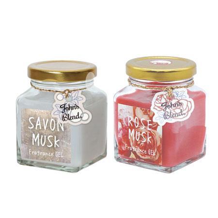 日本 John's Blend 室內香氛擴香膏 135g 玫瑰麝香 皂香麝香 香氛 香味 芳香 香氛膏 擴香