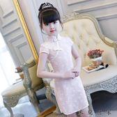 女童旗袍連身裙兒童旗袍公主修身