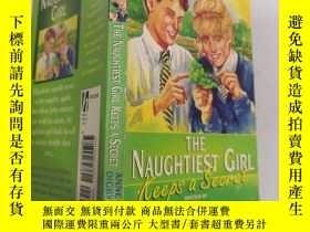 二手書博民逛書店The罕見Naughtiest Girl marches on :最頑皮的女孩繼續前進.Y200392