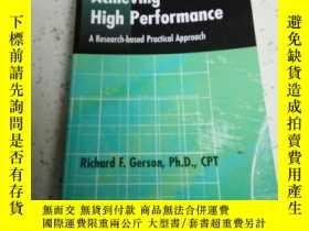 二手書博民逛書店Achieving罕見High performance(英文)Y