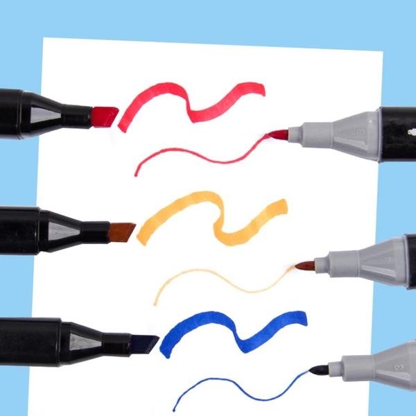 柏倫斯馬克筆套裝TOUCH正品動漫專用學生用手繪設計筆酒精油性雙頭 居享優品