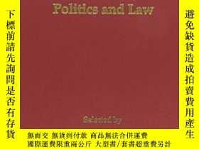 二手書博民逛書店Landmark罕見Papers In Economics, Politics And Law Selected