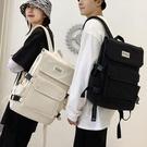 雙肩包 潮牌大容量雙肩包男女新款韓版高中大學生書包15.6寸電腦包【快速出貨八折鉅惠】