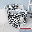 棉被收納袋 簡約式可視衣物整理箱布藝衣櫃儲物袋衣物收納袋FG123 快速出貨
