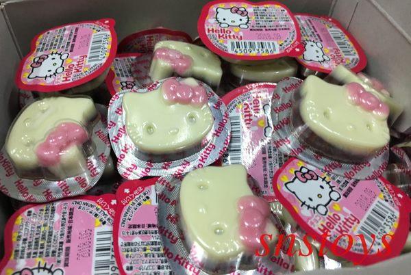 sns 古早味 進口食品 巧克力 Hello kitty 造型巧克力 50個 300公克