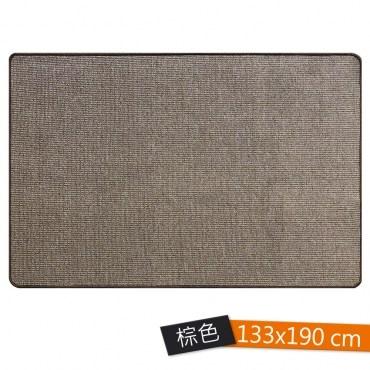 峽灣素色地毯 133x190 棕色