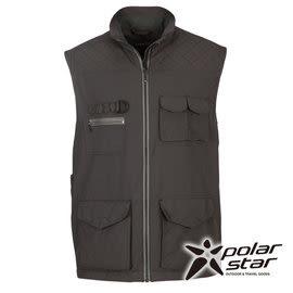 PolarStar 中性多口袋保暖背心『暗灰』P15203