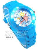 Disney 迪士尼 小飛象 Dumbo 呆寶 大包 卡通手錶 兒童手錶 防水手錶 DT7301淺藍