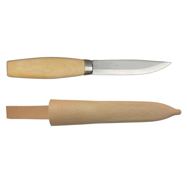 [MORAKNIV] ORIGINAL 1 EXCLUSIVE 層壓鋼經典木工刀 - 原木色 (11934)