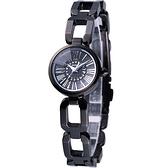 【寶時鐘錶】ALBA WIRED-F 星光璀璨時尚腕錶AC3T05X 全黑1N01-X117K