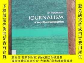 二手書博民逛書店Journalism:罕見A Very Short Introd