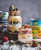 Nature's Charm 純素椰奶卡士達醬(不含乳) 400gX24罐/箱_ 愛家嚴選純素椰奶製品 素食甜點DIY 糕點裝飾