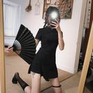 旗袍 春夏裝2020新款女旗袍改良版洋裝氣質復古輕熟冷淡風短褲兩件套 果果生活館