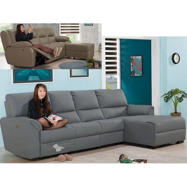 沙發 L型皮沙發 FB-645-2 安契威皮製L型沙發組【大眾家居舘】