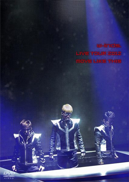 w-inds. LIVE TOUR 2012 MOVE LIKE THIS 雙DVD (音樂影片購)