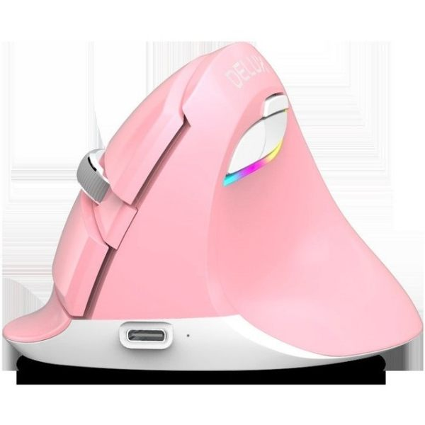 【Love Shop】多彩M618mini無線滑鼠/立式垂直人體工學藍牙4.0筆記型電腦必備/電競