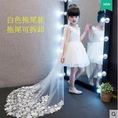 熊孩子❤童禮服女童婚紗裙(拖尾款)