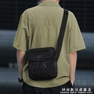 男士包包單肩包側背包運動小背包帆布多功能跨包女休閒大容量男包 科炫數位