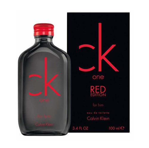 Calvin Klein CK ONE Red For Him 限量版男性淡香水100ml (73097)【娜娜香水美妝】