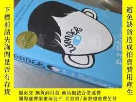 二手書博民逛書店wonder【32開罕見英文原版】Y16472 R.J.PALACIO 著 Random House ISBN