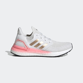 Adidas Ultraboost 20 W [EG0724] 女鞋 運動 慢跑 休閒 緩震 舒適 穿搭 愛迪達 白粉