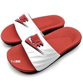 《7+1童鞋》NIKE KAWA SLIDE JDI (GS/PS)  輕量 運動 休閒拖鞋 F886 紅色