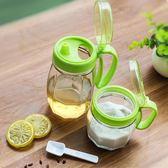 六件套玻璃調料盒廚房調味瓶罐調料罐