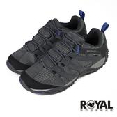 Merrell Alverstone 灰色 麂皮 防水 健行運動鞋 男款 NO.B1741【新竹皇家 ML034539】
