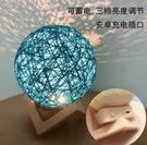 創意浪漫充電式床頭小夜燈