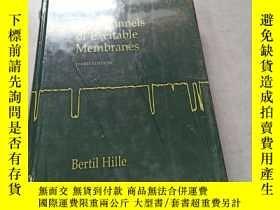 二手書博民逛書店Ion罕見Channels Of Excitable MembranesY15335 出版2001