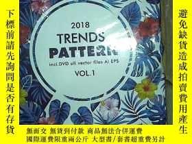 二手書博民逛書店2018罕見TRENDS PATTERN VOL.1 2018趨