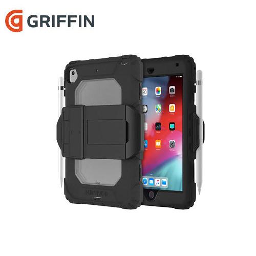 Griffin Survivor All-Terrain iPad Mini (2019) & iPad Mini 4 三層防護保護套組 黑/透明(IAPGPD005)