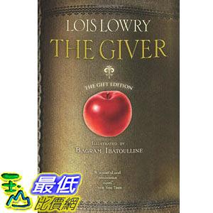 [104美國直購] 美國暢銷書排行榜 The Giver (illustrated; gift edition) (Giver Quartet) Hardcover