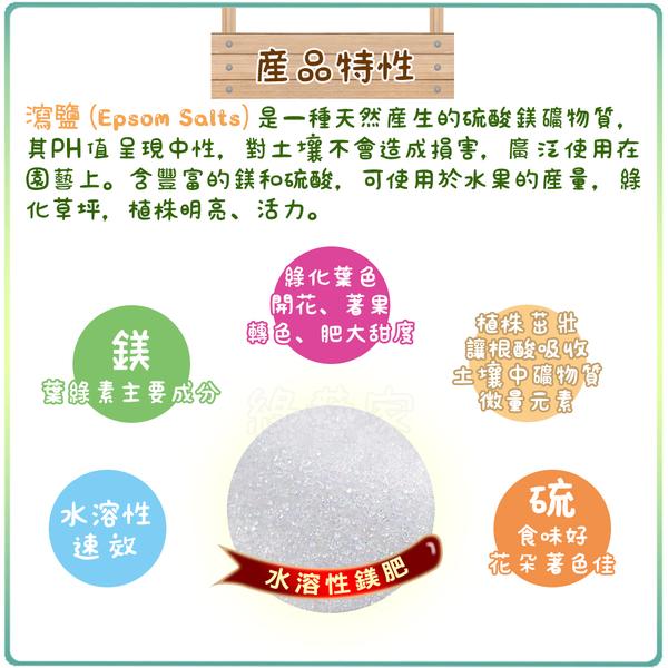 【綠藝家】青山美水溶性鎂肥(瀉鹽)1.5公斤/袋(硫酸鎂肥料)