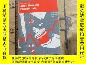 二手書博民逛書店Quick罕見Reference to Adult Nursing ProceduresY252403 Joh