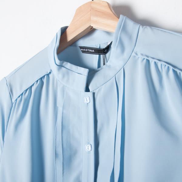【MASTINA】 百搭氣質上衣-藍 精選單一價