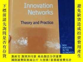 二手書博民逛書店Innovation罕見Networks Theory and