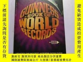 二手書博民逛書店Guinness罕見Book of World Records,
