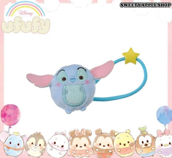 日本 Disney Store 迪士尼商店 限定 ufufy 史迪奇 玩偶髮束