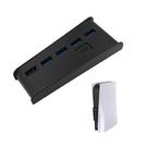 PS5 USB HUB 2.0 擴充器 6埠 集線器 含 Type C 接口 適用 Playstation 5 光碟版 數位版 主機遊戲機 KJH 黑/白