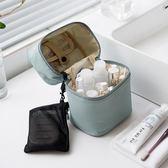 化妝包 北歐化妝包網紅少女軟妹簡約便攜大容量多功能大號旅行收納包 美物居家館