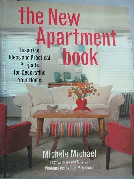 【書寶二手書T4/設計_JDI】The New Apartment Book_Michael, Michele/ Isr