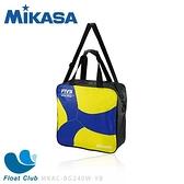 MIKASA 排球袋4入 V200樣式 外出球袋 外出球包 黃藍黑色 MKAC-BG240W-YB 原價1280元