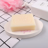 硅藻泥皂托創意香皂盒印花硅藻土肥皂盒吸水衛生間浴室吸水皂墊 芥末原創
