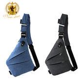 單肩背包 簡約防水極簡素面多口袋輕便隨身斜胸包包 NEW STAR BK252