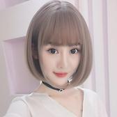 假髮女短髮 bobo頭韓國波波頭圓臉