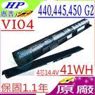 HP 電池(原廠)-VI04  惠普 440 G2,445 G2,450 G2,HSTNN-DB6K,HSTNN-LB61,HSTNN-LB6I,HSTNN-LB6J,HSTNN-UB6I