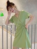 小眾桔梗收腰裙子夏裝韓版顯瘦洋氣 全館免運