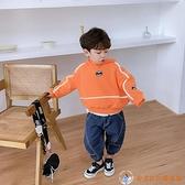 男童衛衣兒童潮牌連帽洋氣小童上衣春裝韓版春秋寶寶3歲6