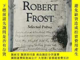 二手書博民逛書店Robert罕見Frost羅伯特·弗羅斯特詩集,英文原版,來自美